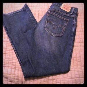 Levi's relaxed boot cut jeans